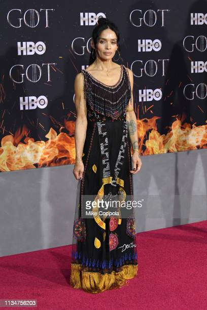 Lisa Bonet attends the Game Of Thrones season 8 premiere on April 3 2019 in New York City