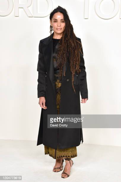 Lisa Bonet attends the Tom Ford AW/20 Fashion Show at Milk Studios on February 07 2020 in Los Angeles California