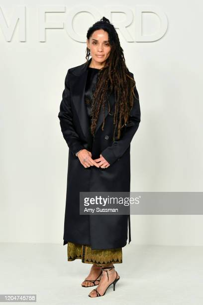 Lisa Bonet attends the Tom Ford AW20 Show at Milk Studios on February 07 2020 in Hollywood California