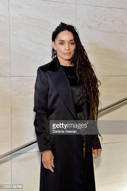Lisa Bonet attends Tom Ford Autumn/Winter 2020 Runway Show at Milk Studios on February 07 2020 in Los Angeles California