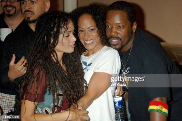 Lisa Bonet Cree Summer and Kadeem Hardison of A Different World