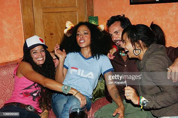 Lisa Bonet Cree Summer friend and Lisa Bonet's daughter Zoe helped LG Mobile Phones celebrate Sirens Sailors fashion show and cocktail reception...