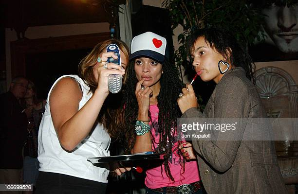 Lisa Bonet daughter Zoe helped LG Mobile Phones celebrate Sirens Sailors fashion show and cocktail reception *Exclusive*