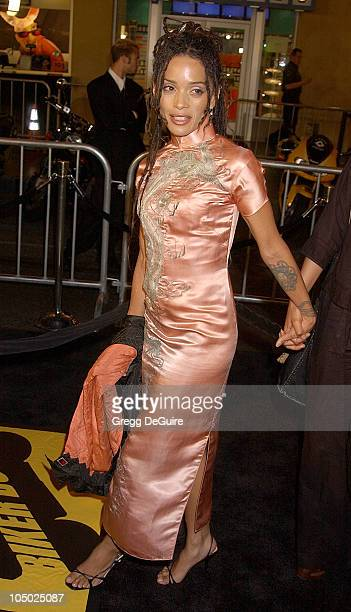 Lisa Bonet during Biker Boyz Premiere at Mann's Chinese Theatre in Hollywood California United States