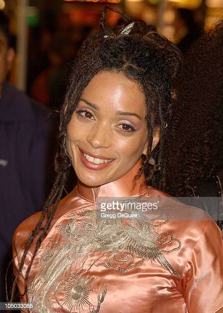 """Lisa Bonet during """"Biker Boyz"""" Premiere at Mann's Chinese Theatre in Hollywood, California, United States."""