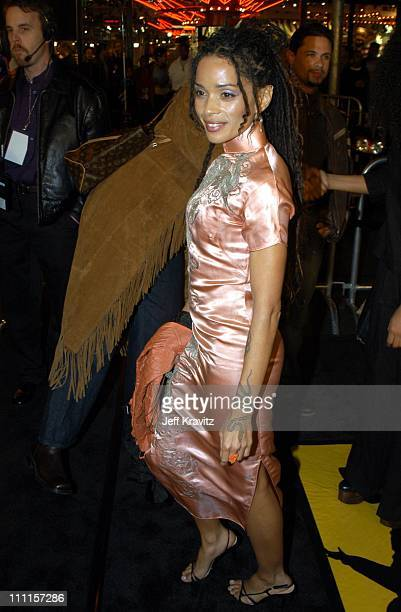 Lisa Bonet during Dreamworks Pictures Biker Boyz at Manns Chinese Theater in Hollywood CA United States