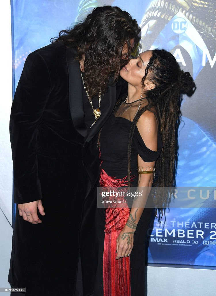 "Premiere Of Warner Bros. Pictures' ""Aquaman"" - Arrivals : Fotografía de noticias"