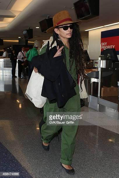 Lisa Bonet seen at LAX on November 05 2014 in Los Angeles California