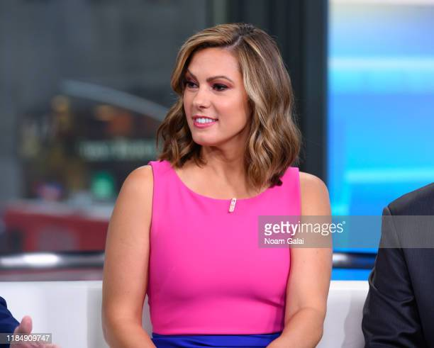 Lisa Boothe is seen on set of Fox Friends at Fox News Channel Studios on September 10 2019 in New York City