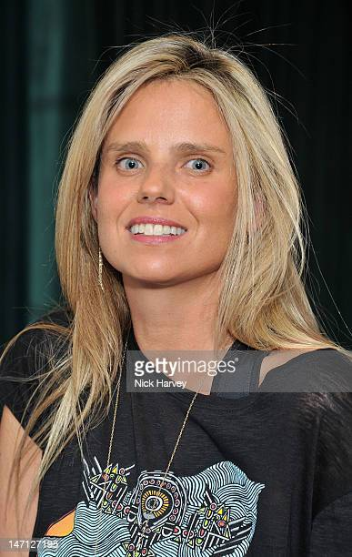 Lisa Bridget attends the launch of Jax Coco coconut water at Harvey Nichols on June 25, 2012 in London, England.
