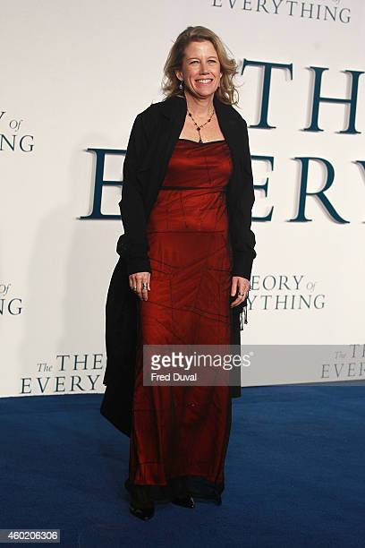 """Lisa Bruce attends the UK Premiere of """"The Theory Of Everything"""" at Odeon Leicester Square on December 9, 2014 in London, England."""