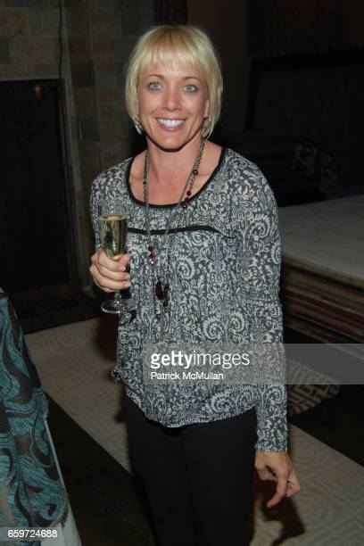 Lisa Bruchman attends WOVEN ACCENTS Introduces The FLORENCE BROADHURST Rug Collection During West Week at Woven Accents on March 26 2009 in West...