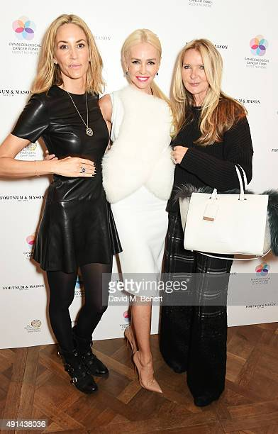 Lisa Butcher Amanda Cronin and Amanda Wakeley attend the annual ladies' lunch in support of the Silent No More Gynaecological Cancer Fund and The...