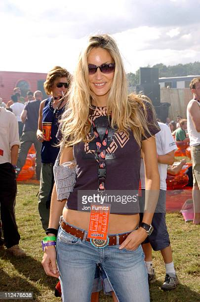 Lisa Butcher at the Virgin Mobile Louder Lounge V Festival
