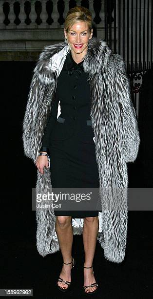Lisa Butcher Attends A 'De Beers Lv' Store Launch Party In London'S Old Bond Street.