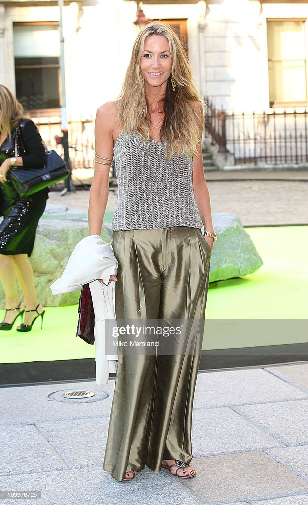 Lisa Butcher attends the preview party for The Royal Academy Of Arts Summer Exhibition 2013 at Royal Academy of Arts on June 5, 2013 in London, England.