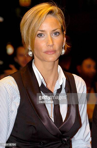 Lisa Butcher during 'The Devil Wears Prada' London Gala Screening at Odeon Leicester Square in London Great Britain