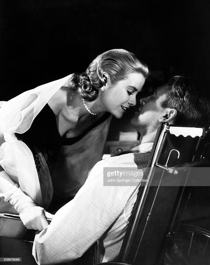 Grace Kelly and James Stewart : News Photo