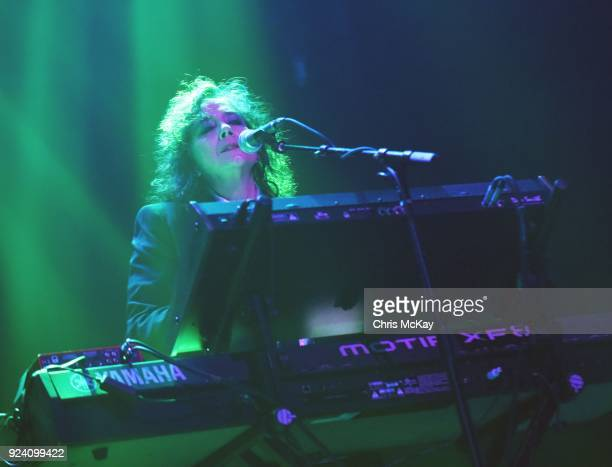 Lisa Coleman of The Revolution performs at The Tabernacle on February 24 2018 in Atlanta Georgia