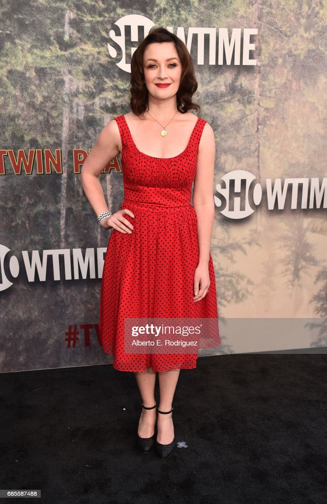 Lisa Coronado attends the premiere of Showtime's 'Twin Peaks' at The Theatre at Ace Hotel on May 19, 2017 in Los Angeles, California.