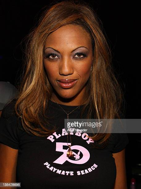 Lisa Custard during Playboy Magazine's 50th Anniversary Model Search Fashion Show Backstage at Jillian's in Universal City California United States
