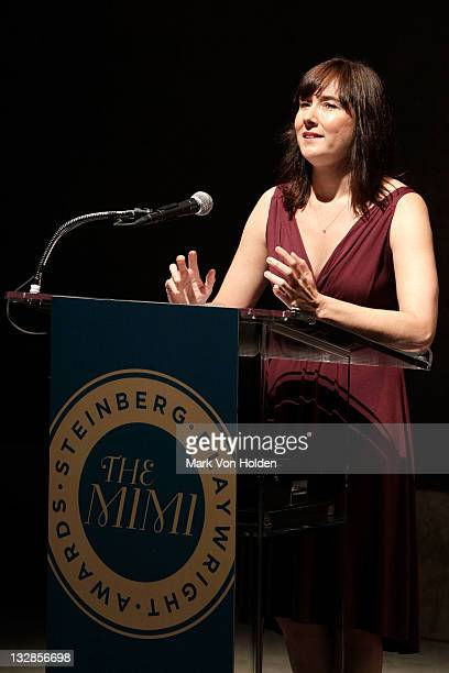 Lisa D' Amour attends The 2011 Steinberg Playwright Mimi Awards presented by The Harold and Mimi Steinberg Charitable Trust at Lincoln Center Theater...