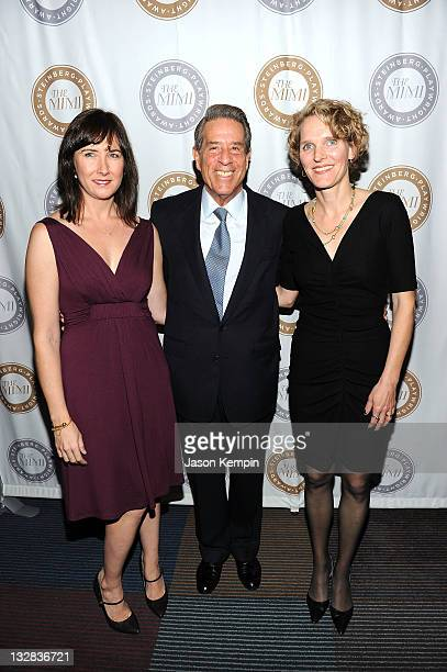 Lisa D'Amour Michael Steinberg and Melissa James Gibson attend The 2011 Steinberg Playwright Mimi Awards presented by The Harold and Mimi Steinberg...