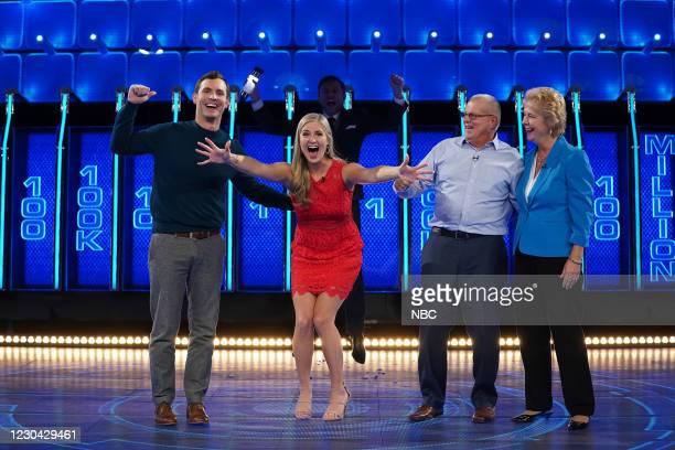 """Lisa & Dan"""" Episode 401 -- Pictured: Dan Walters, Lisa Walters, Chris Hardwick --"""