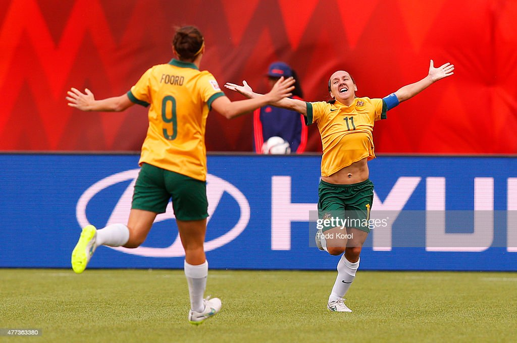 Australia v Sweden: Group D - FIFA Women's World Cup 2015