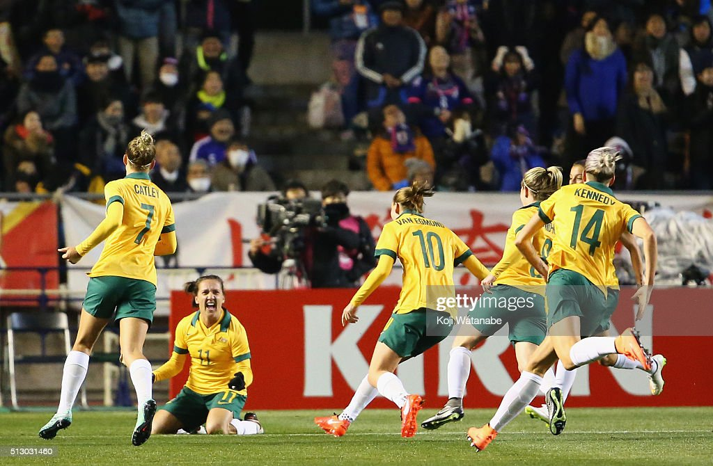 Australia v Japan - AFC Women's Olympic Final Qualification Round