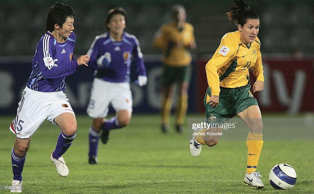 AFC Womens Asian Cup Semi Final - Japan v Australia : News Photo