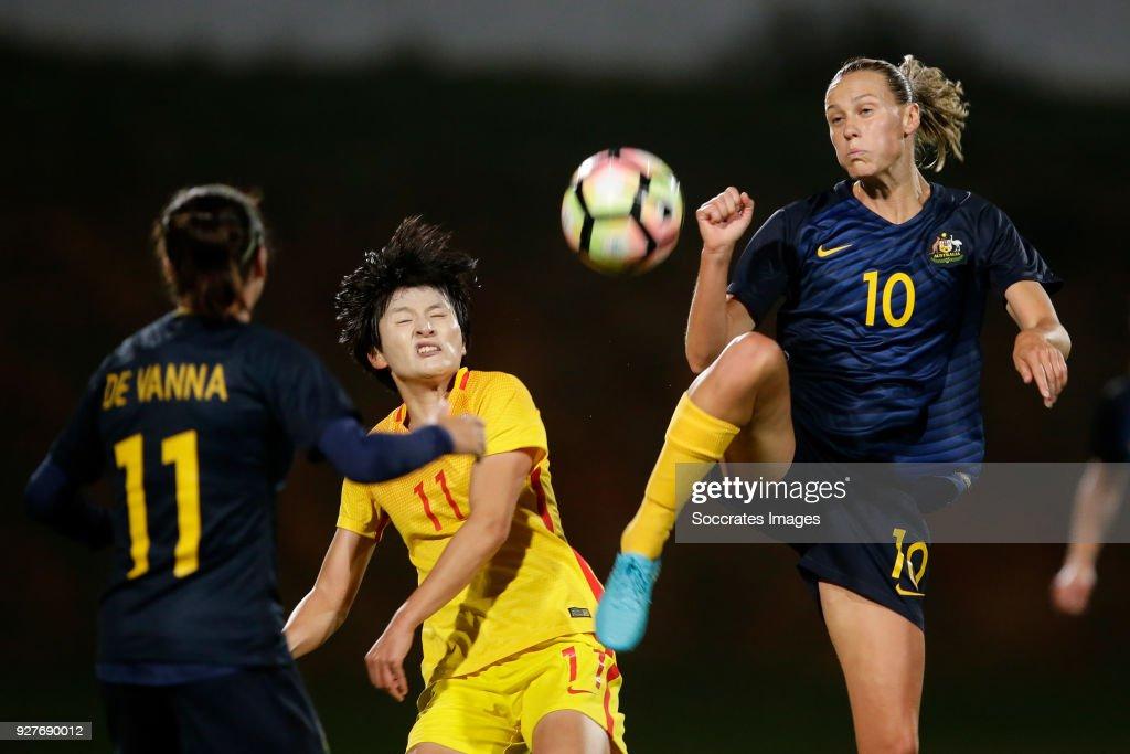 Australia v China - Algarve Cup
