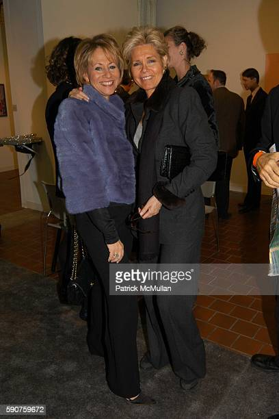 Lisa Dennison and Rachel Rudin attend The Armory Show 2005 Opening Night Preview Party to Benefit The Exhibition Fund of The Museum of Modern Art at...