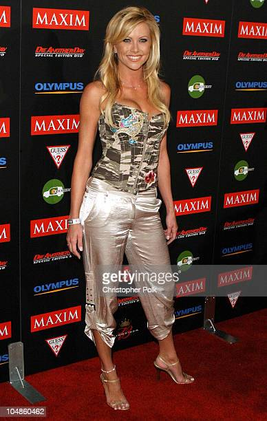 Lisa Dergan During Maxim Magazines Annual Hot 100 Party At 1400 Ivar In Hollywood Ca United