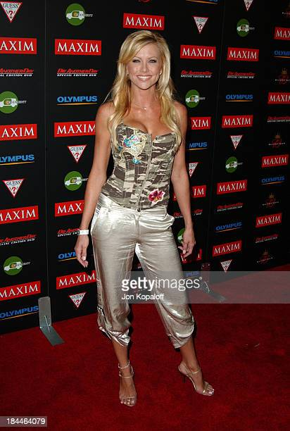 Lisa Dergan During Maxim Magazines Annual Hot  Party At  Ivar In Hollywood Ca United