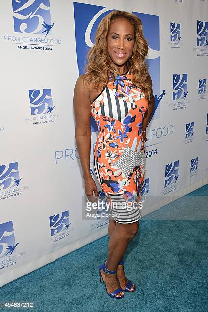 Lisa Deveaux attends the Project Angel Food's 25th Anniversary Angel Awards 2014 honoring Aileen Getty with the Inaugural Elizabeth Taylor Leadership...