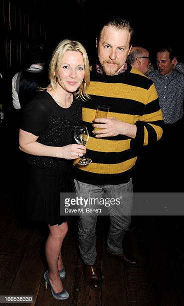 Lisa Dillon and Samuel West attend a party to celebrate Michael Attenborough's 11 years as Artistic Director of the Almeida Theatre at Middle Temple...