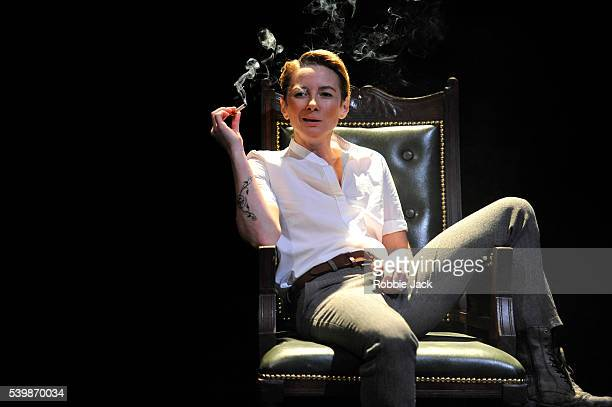 Lisa Dillon as Moll in the Royal Shakespeare Company's production of Thomas Dekker and Thomas Middleton's The Roaring Girl directed by Jo Davies at...