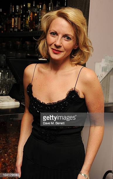 Lisa Dillon attends the afterparty following the press night of 'Design For Living' at Baltic on September 15 2010 in London England