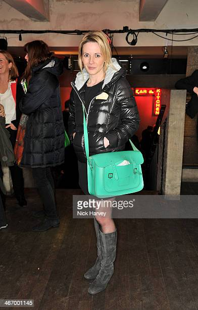 Lisa Dillon attends the press night for The Mistress Contract at Royal Court Theatre with Quintessentially Vodka on February 5 2014 in London England