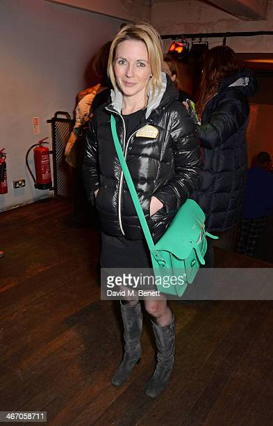 Lisa Dillon attends the press night performance of The Mistress Contract with Quintessentially Vodka at the Royal Court Theatre on February 5 2014 in...