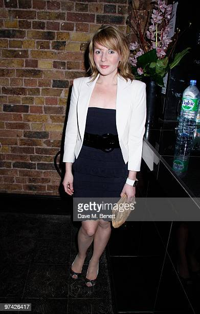Lisa Dillon attends the Private Lives press night after party at Jewell bar London on March 03 2010