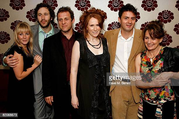 Lisa Dillon Chris O'Dowd Nigel Lindsay Catherine Tate Dominic Rowan and Francesca Annis attend the after party following the press night of 'Under...