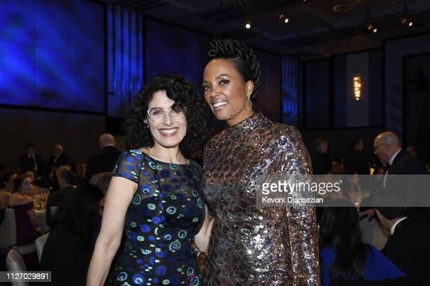 Lisa Edelstein and Aisha Tyler attend the 71st Annual Directors Guild Of America Awards at The Ray Dolby Ballroom at Hollywood Highland Center on...
