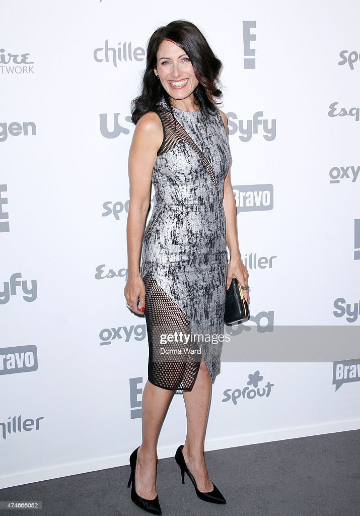 Lisa Edelstein appears during the 2015 NBCUniversal Cable Entertainment Upfront at The Jacob K. Javits Convention Center on May 14, 2015 in New York City.