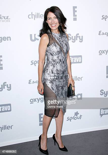 Lisa Edelstein appears during the 2015 NBCUniversal Cable Entertainment Upfront at The Jacob K Javits Convention Center on May 14 2015 in New York...