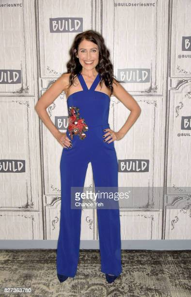 Lisa Edelstein attends Build series to discuss 'Girlfriends' Guide To Divorce' at Build Studio on August 7 2017 in New York City