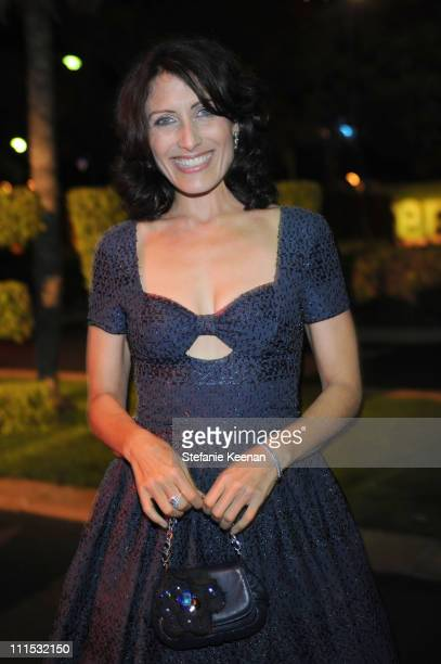 Lisa Edelstein attends Entertainment Weekly's 6th annual pre-Emmy celebration presented by Revlon at the Historic Beverly Hills Post Office on...