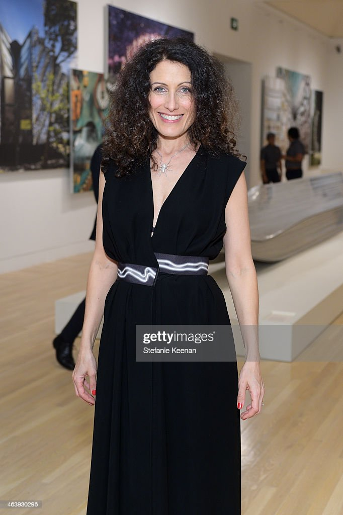 Lisa Edelstein attends Hammer Museum's Provocations Presented In Partnership With Burberry - Members' Opening on February 19, 2015 in Los Angeles, California.