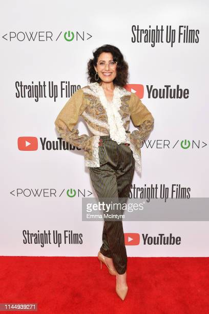 Lisa Edelstein attends Power On Premiere By Straight Up Films With Support From YouTube at Google Playa Vista Office on April 24 2019 in Playa Vista...